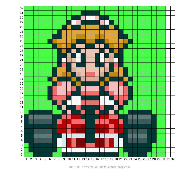 Mariomario Kart All Characters Master Of Gaming Pixel Art