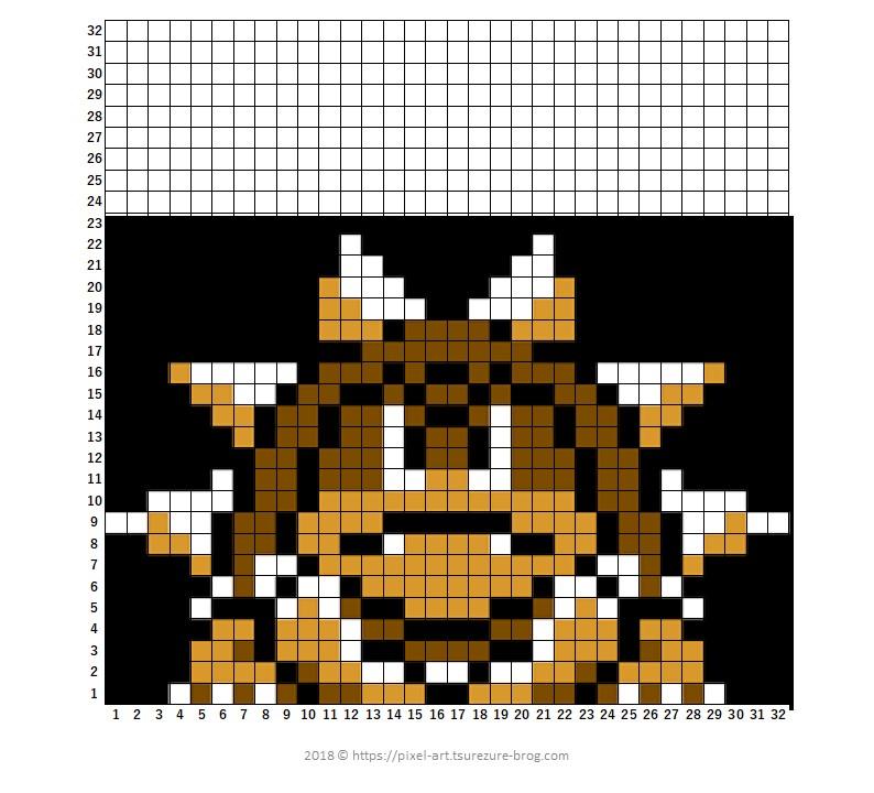 Mario Smb3 Bosses Master Of Gaming Pixel Art