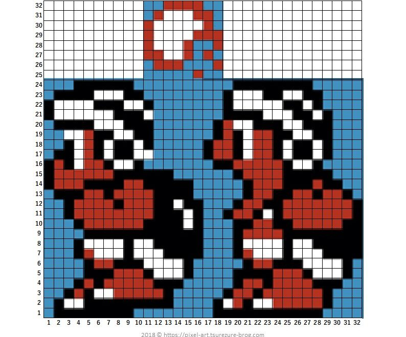 マリオ ドット絵 スーパーマリオブラザーズ3 ゲームドット絵図鑑