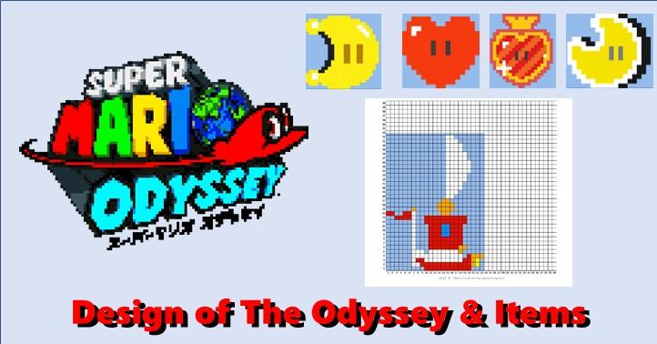 Mariosuper Mario Odyssey 2d Item Master Of Gaming Pixel Art