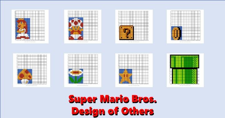 Mario Smb Others Master Of Gaming Pixel Art